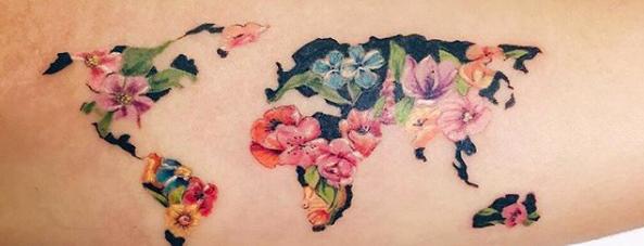 Tatuajes Viajeros Gente Que Lleva Su Pasion Dibujada En La Piel