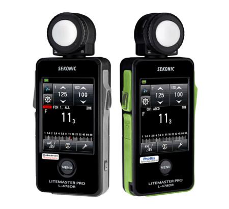 Sekonic L-478El y L-478PX, nueva generación de fotómetros dedicados para Elinchrom y Phottix