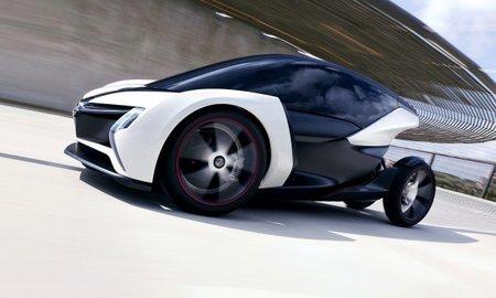 Opel Lightweight Electric Vehicle concept. Eléctrico biplaza para la movilidad urbana