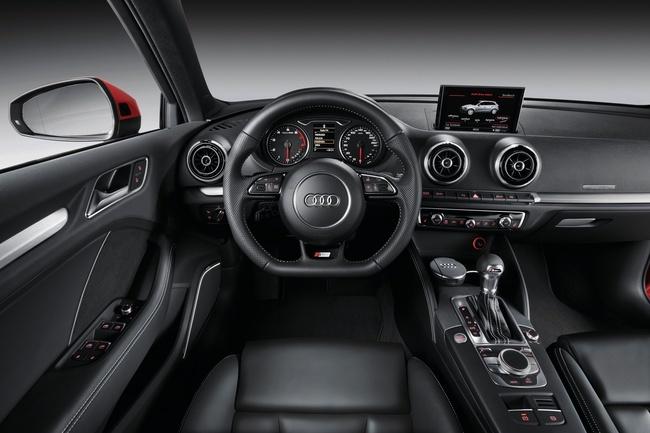 Audi A3 Sportback, vista interior