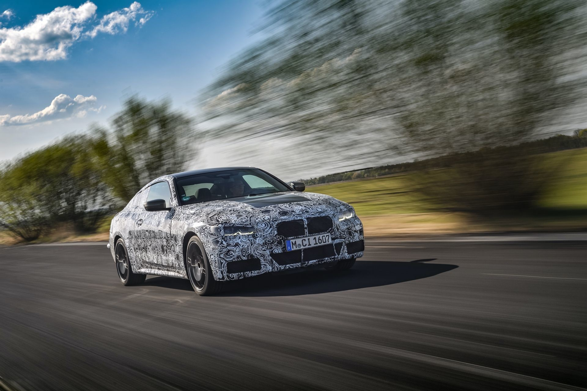 Foto de BMW Serie 4 2021 (fotos espía) (8/38)