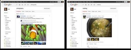 Google Plus Búsqueda