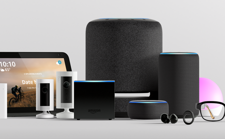 Amazon no solo meterá Alexa en sus nuevos Echo 2019 que llegarán a México, también en audífonos, lentes y hasta en un anillo