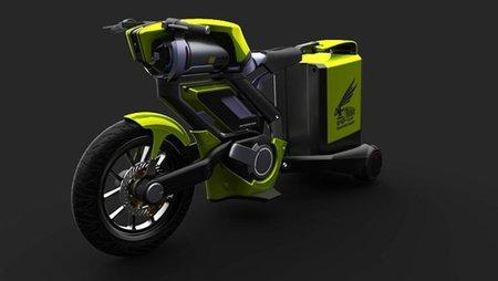 Transport Hornet: una moto de aire comprimido