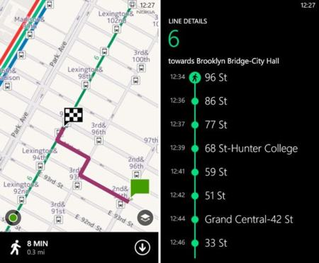 Nokia Transport 2.1.0.0 ya disponible para todos los Nokia Lumia en Windows Phone Marketplace