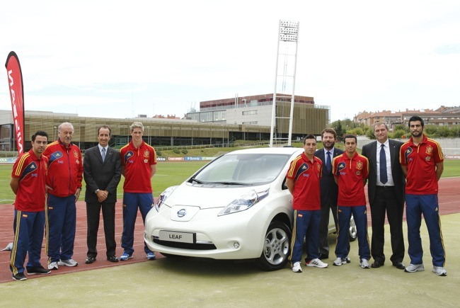 Nissan Patrocinador Selección española de fútbol 01