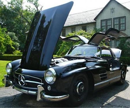 A la venta un Mercedes 300 SL Gullwing de pre-producción