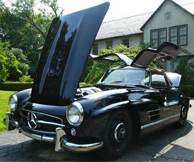 Mercedes 300 SL Gullwing Pre-production