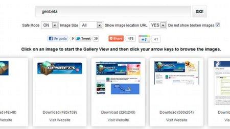 Revisando Google Image Ripper para buscar imágenes con su resolución original