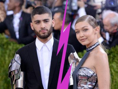 Qué mala primavera ésta para el amor: rompen Gigi Hadid y Zayn Malick