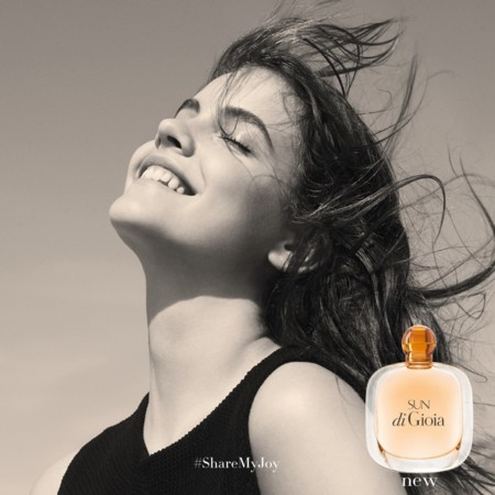 Armani Sun Di Gioia 2016 Perfume Campaign
