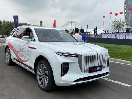 El 'Rolls-Royce' chino llega a Europa: un SUV eléctrico llamado Hongqi E-HS9 que ya está en Noruega