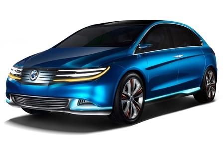 Denza NEV concept, el primer modelo de la marca de BYD y Daimler