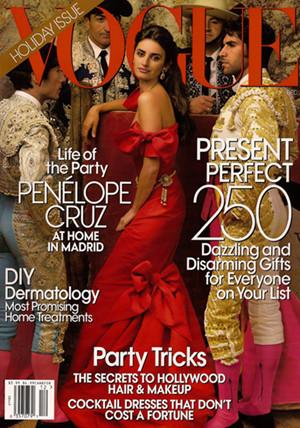 Penélope Cruz, made in Spain, portada de Vogue