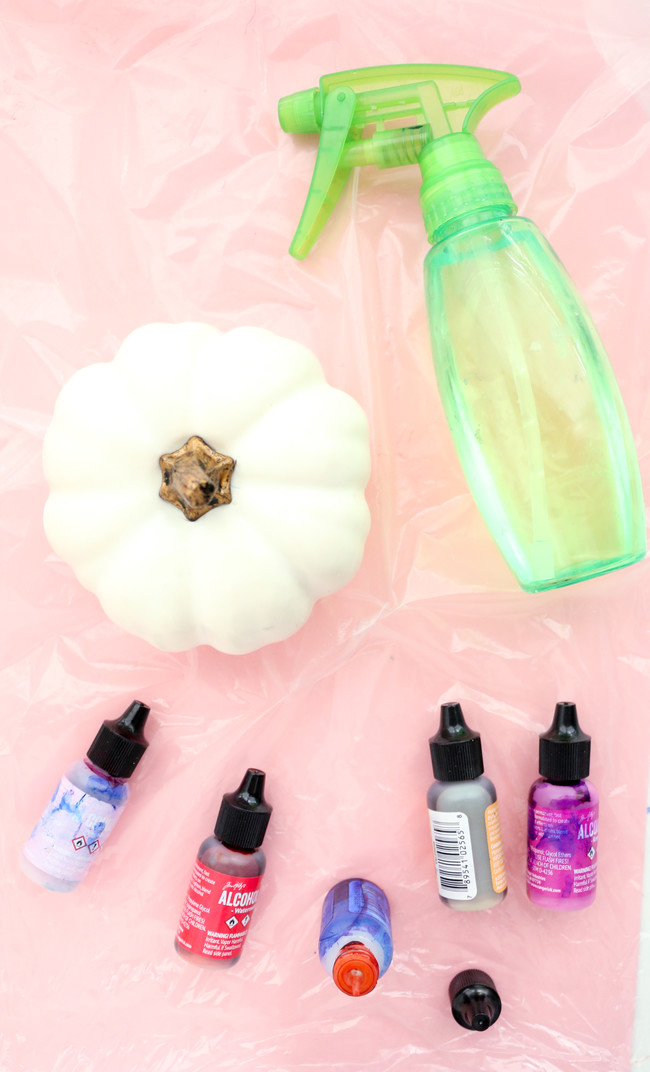 Make Your Own Alcohol Ink Pumpkins 3