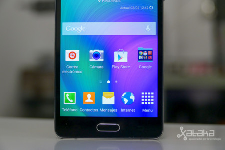 Samsung Galaxy A5 frontal