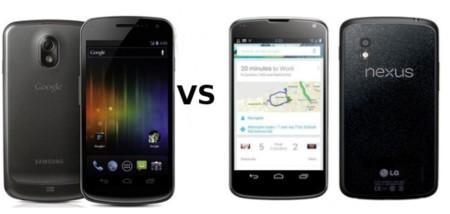 Galaxy Nexus vs Nexus 4