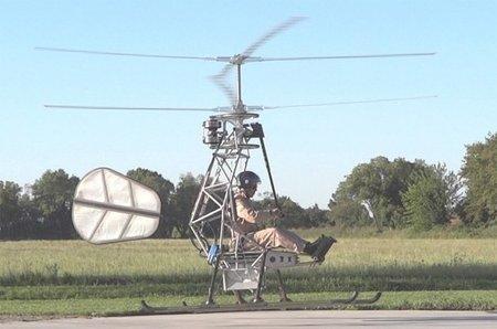 Helicóptero alimentado por baterías