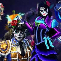 Lluvia de «skins» mexicanas y de problemas con la actualización 6.20 de Fortnite