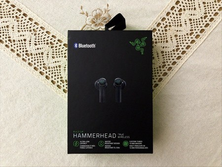 Empaque Razer Hammerhead True Wireless