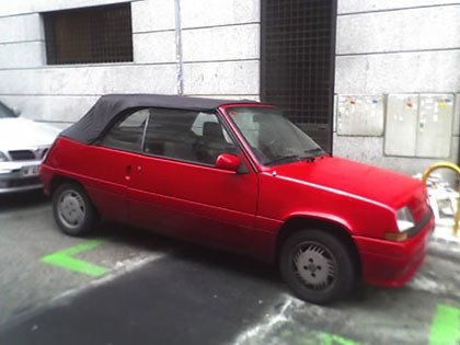 ¿Existió el Renault 5 Spyder?