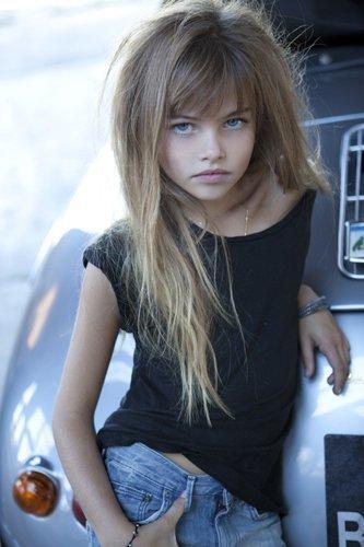 Liberad A Thylane Léna Rose Blondeau Otra Niña Modelo Con 10 Años