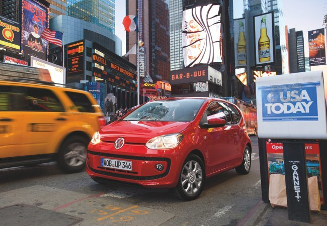 Volkswagen Up! en Nueva York