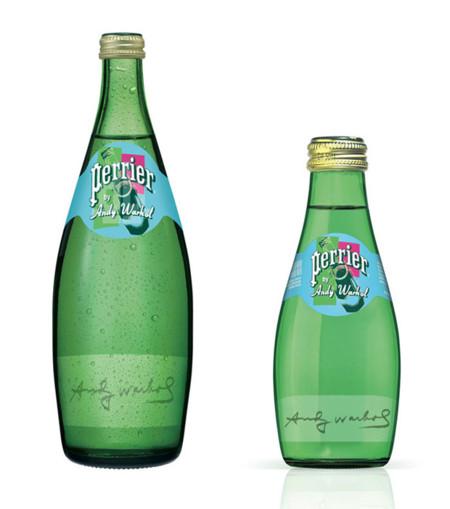 Perrier y Andy Warhol, una unión de lo más pop 30 años después