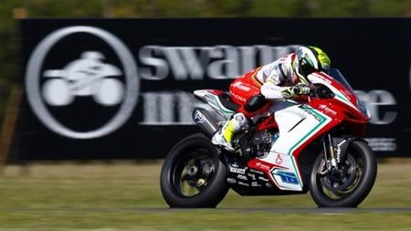 Superbikes Australia 2015: Jules Cluzel gana Supersport con doblete para MV Agusta
