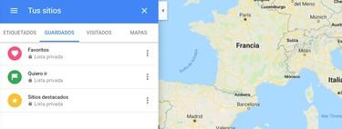 Cómo añadir un lugar a tus favoritos de Google Maps