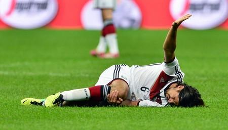 Sami Khedira Lesionado