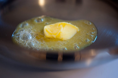 Evita la mantequilla para freír