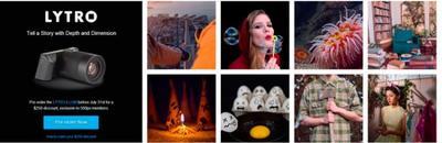 Lytro y 500px llegan a un acuerdo para poder subir las fotos reenfocadas a la red social