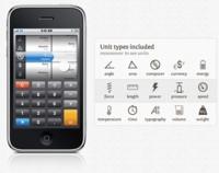 Convert, conversor de unidades para iPhone y iPod Touch