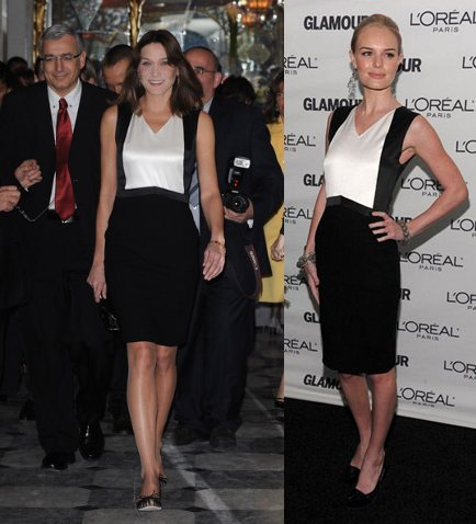 Vestido de Chanel: ¿Carla Bruni o Kate Bosworth?