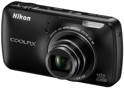 Nikon Coolpix S800c: Android al rescate de las cámaras compactas