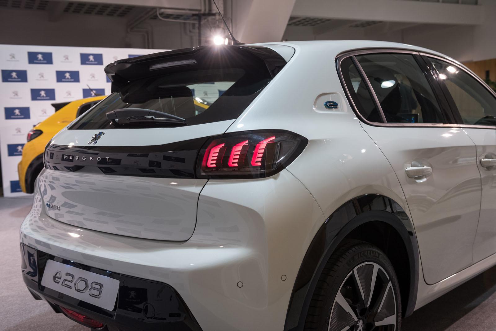 Foto de Peugeot 208 y e-208 2019 (presentación estática) (48/64)