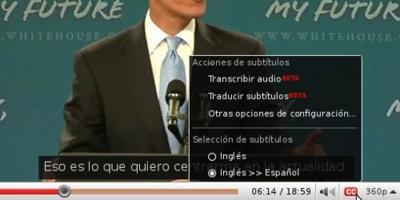 Youtube ya traduce los subtítulos a varios idiomas