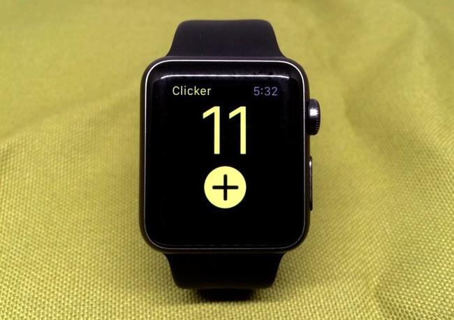 Clicker Apple Watch