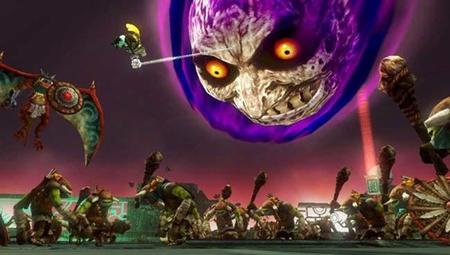 Hyrule Warriors nos muestra la acción del DLC de Majora's Mask