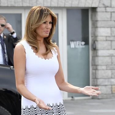 Melania Trump vuelve a robar todo el protagonismo a Brigitte Macron  en la cumbre del G7