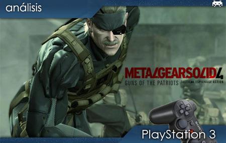 Análisis: 'Metal Gear Solid 4' (y II)