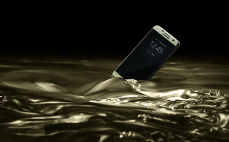 Resistencia Agua Galaxy S7 2