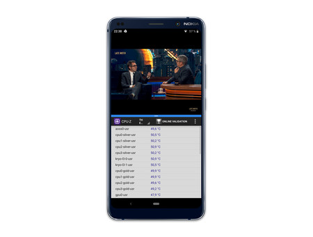 Nokia 9 Pureview Pantalla Dividida Temperatura Alta