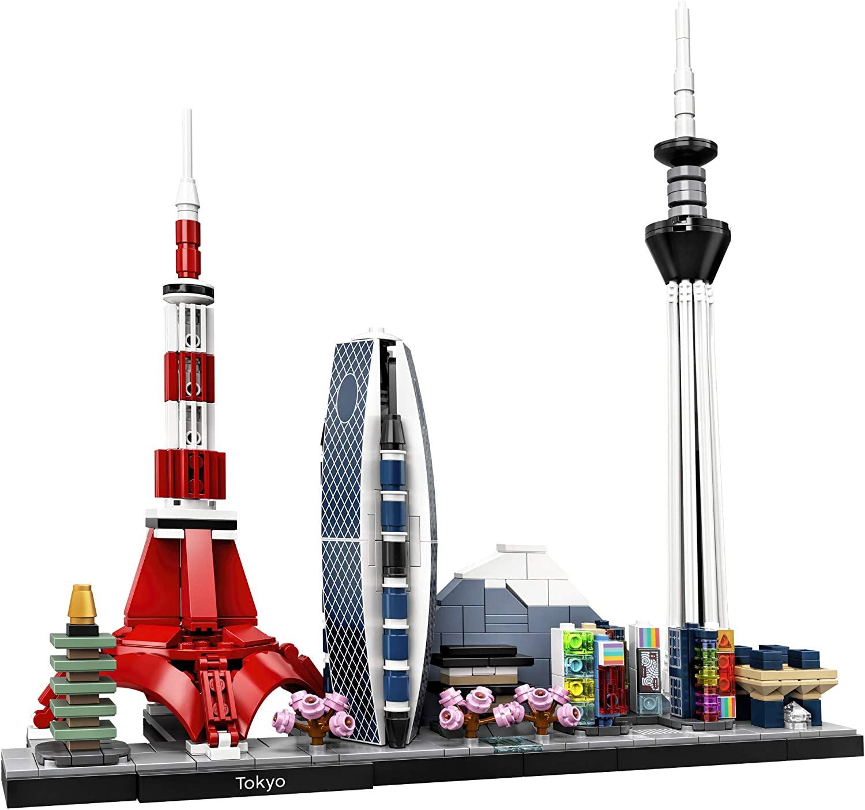 LEGO Kit de construcción Architecture - Tokio 21051 (547 Piezas)