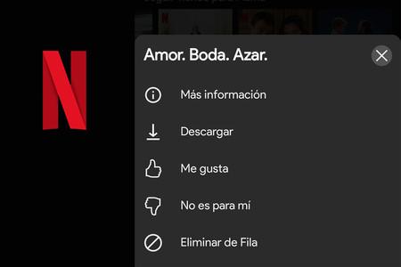 Cómo eliminar peliculas y series de 'Seguir viendo' en Netflix con su aplicación para Android