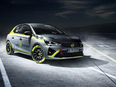 Opel Corsa-e Rally: es un coche de rally y sí, ¡es eléctrico!