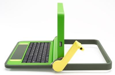 El ordenador de los 100 dólares podrá ser cargado con una manivela cuerda