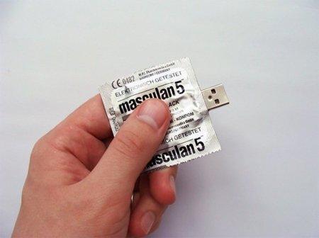Tus datos bien protegidos con el Condom USB Flash Drive