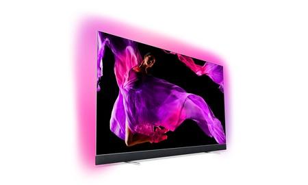 Philips 55OLED903/12: una smart TV OLED de 55 pulgadas con Ambilight por 1.349 euros en El Corte Inglés